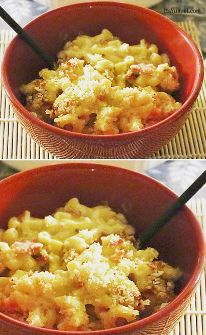 Barefoot Contessa Mac And Cheese ina garten's grown up bacon mac and cheese | its yummi