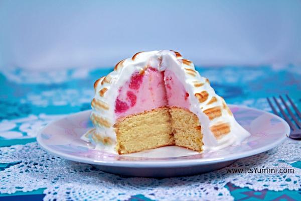 Baked Alaska from ItsYummi.com #Recipe