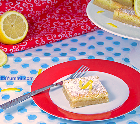 Lip Smacking Good Lemon Bars Recipe