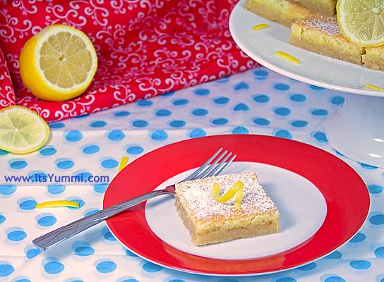 Lip Smacking Good Lemon Bars Recipe