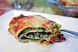 Lasagna roll ups are a much easier way to enjoy this Italian comfort food. Stuffed with sweet Italian sausage, spinach, ricotta cheese, and a zesty marinara sauce, they'll become your new favorite Italian dinner. Get the recipe from itsyummi.com