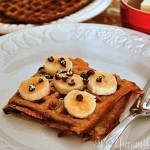 Banana Bread Waffles from ItsYummi.com