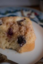 Blueberry Cream Cheese Streusel Cakes from ItsYummi.com #recipe #blueberries #PamperedChef