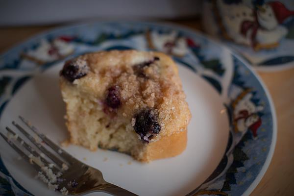 Blueberry Cream Cheese Streusel Muffins