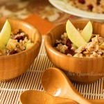 Farro Salad with Citrus Basil Vinaigrette from ItsYummi.com #RecipesFromTheHeart