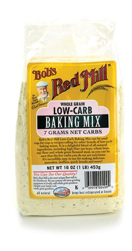 Bob's Red Mill Low-Carb Baking Mix - Used to create the Low Carb Banana Bread Bites recipe at ItsYummi.com