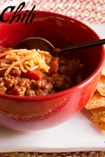 Turkey Chili Con Frijoles from ItsYummi.com - only 6 Weight Watchers Points Plus! Healthy & delicious!