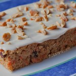 Cashew Carrot Cake w Cream Cheese Frosting from ItsYummi.com #HealthyDesserts #LowCarb