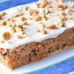 Healthier Carrot Cake with Cream Cheese Frosting