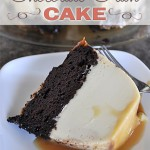 chocolate flan cake from Love & Laundry #RecipeSwap #Dessert