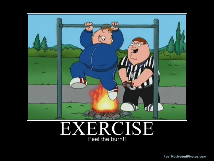 exercise - #FeelTheBurn