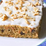 Healthier Carrot Cake with Cashew Cream Cheese Frosting