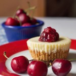 Chocolate Cherry Cheesecake Cups from ItsYummi.com