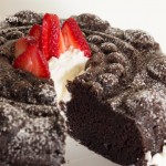 Chocolate Sour Cream Bundt Cake from ItsYummi.com #Recipe #Cake #Chocolate #PamperedChef