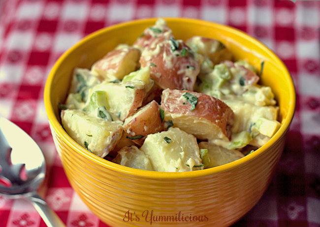 Tarragon Potato Salad Recipe from ItsYummi.com