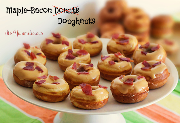 Maple Bacon Doughnuts from @itsyummi / It's Yummilicious