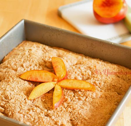 Nectarine Crumb Cake Recipe