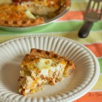 Chicken, Bacon, & Cheese Egg White Quiche from ItsYummi.com #baconmonth 2013