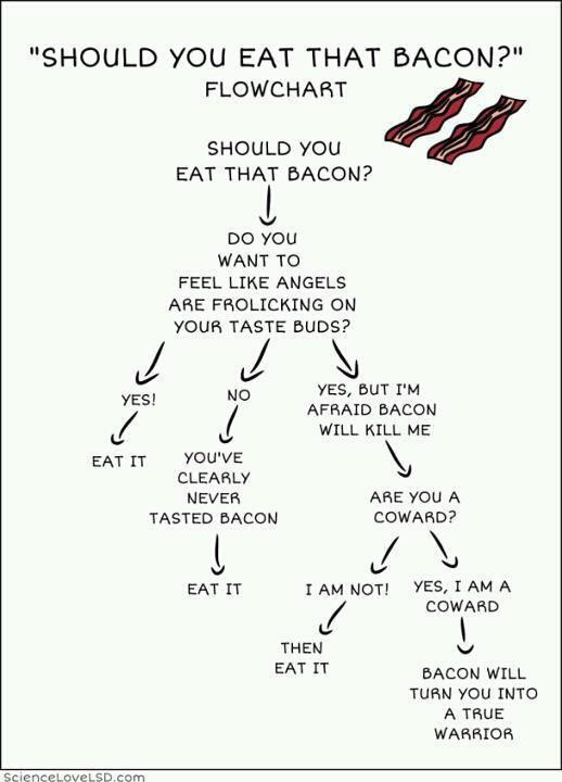 bacon flow chart