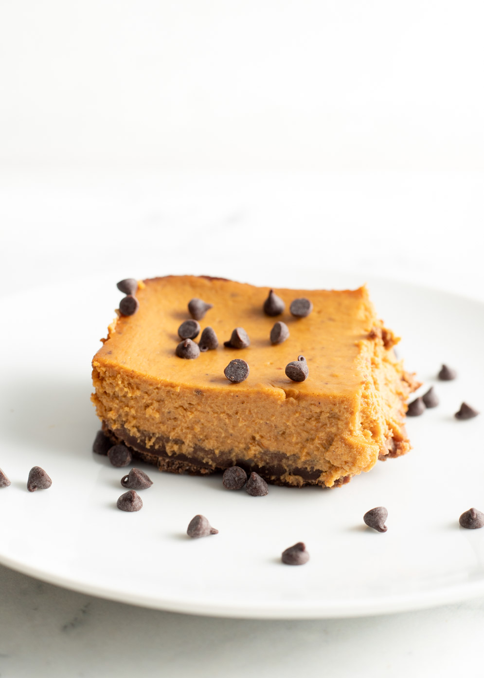 Pumpkin Bars with Chocolate Crust