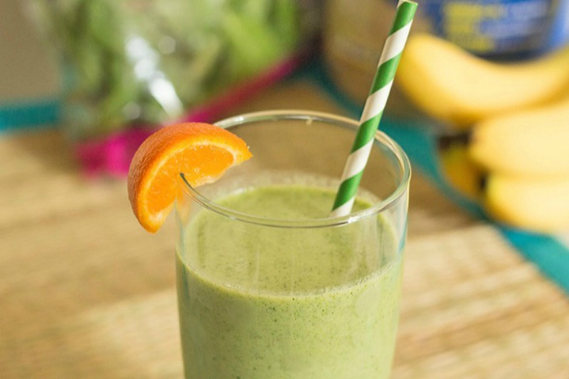 Healthy Green Protein Breakfast Smoothie