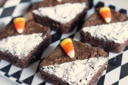 Fudgy, dark chocolate chunk best ever brownies recipe from ItsYummi.com