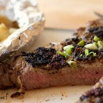 Mustard Peppercorn Rubbed Rib Eye from @itsyummi #shop