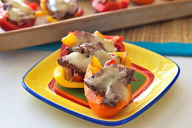 Steak Fajita Bell Pepper Boats