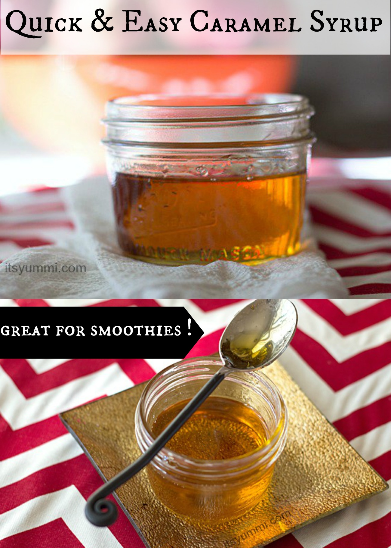 recipe: how to make caramel syrup [1]