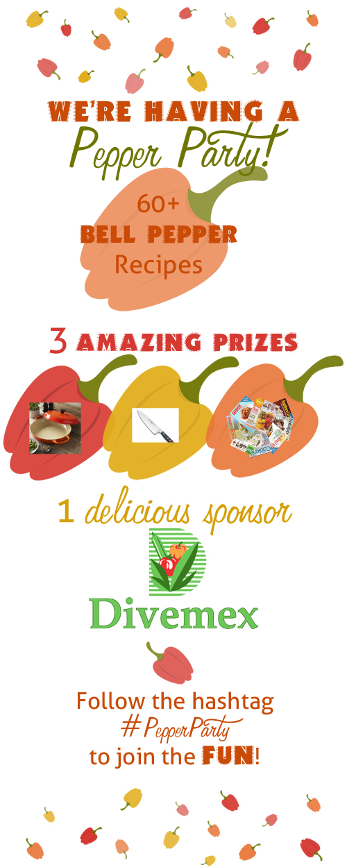 Divemex Pepper Party and GIVEAWAY on ItsYummi.com