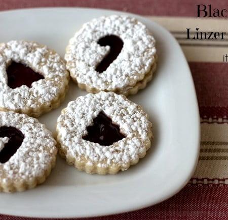 Blackberry Linzer Cookies Recipe