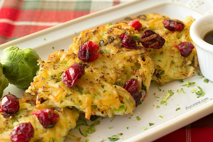 Festive Potato Pancakes from ItsYummi.com #shop