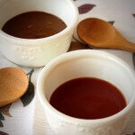 2 delicious Asian dipping sauces - a sweet and sour dipping sauce and a peanut sauce - perfect for dipping or serve over noodles.