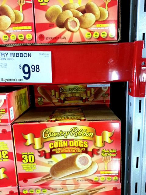 Country Ribbon Mini and Regular Corn Dogs, available at Sam's Club