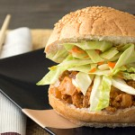 Two recipes in one post! Asian Sloppy Joes with a tangy, delicious cabbage slaw from It's Yummi.com