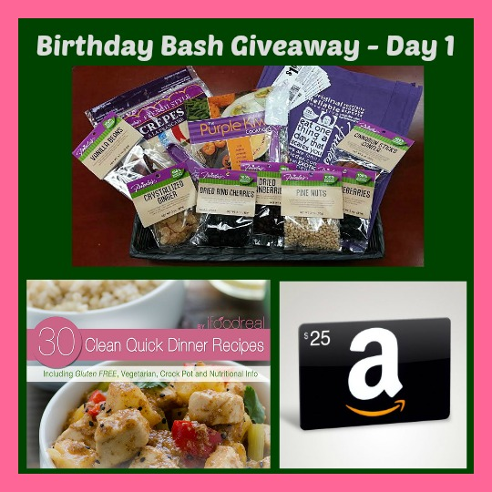 Chef Bec's (ItsYummi.com) 50th BIRTHDAY GIVEAWAY - DAY 1 Prize Pack