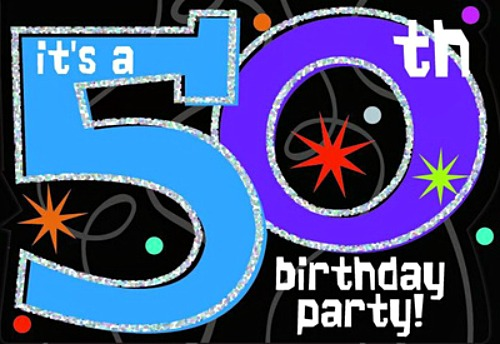 Let's Party Like It's 1964 for Chef Bec's 50th Birthday Giveaway