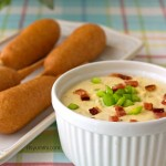 Ad: Game Day Snack~ Warm and Creamy Bacon Cheddar Dip from It's Yummi! #GetCorny #cbias