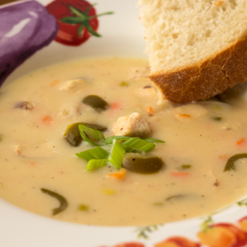 Jalapeno Chicken Beer Cheese soup is made right in your slow cooker, Instant Pot, multicooker, or Crock Pot. It'll warm you up on the coldest of days!