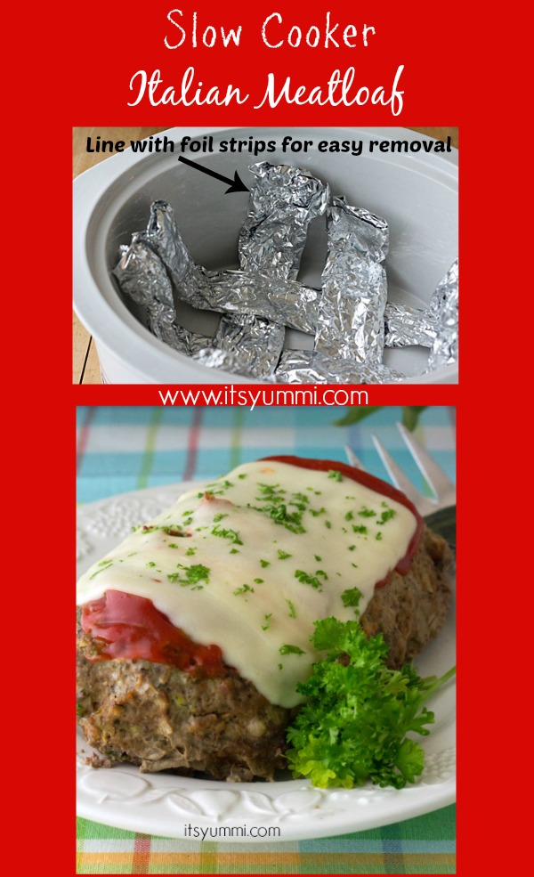 Low Carb Slow Cooker Meatloaf Recipe, from @itsyummi - This low carb recipe uses a special ingredient instead of bread crumbs to make it a low carb dinner that tastes just like the comfort food you grew up eating.