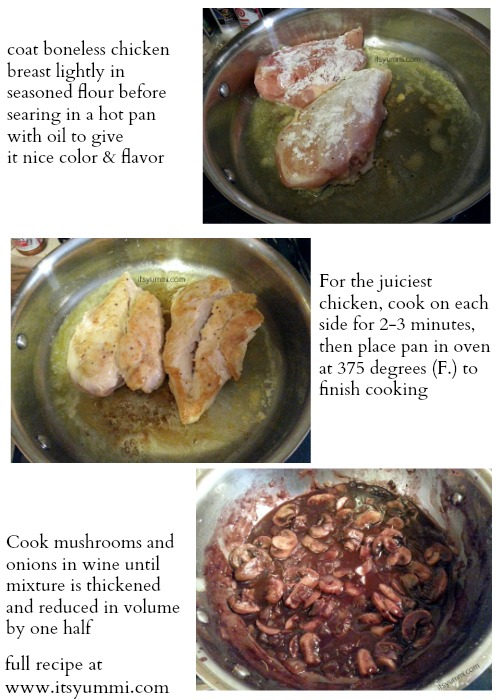 ad -Low Carb Chicken & Mushroom Bourguignon Recipe from ItsYummi.com #cbias #NatureRaised