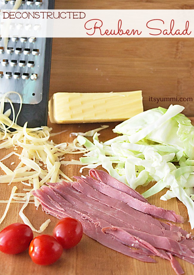 healthy reuben salad ingredients