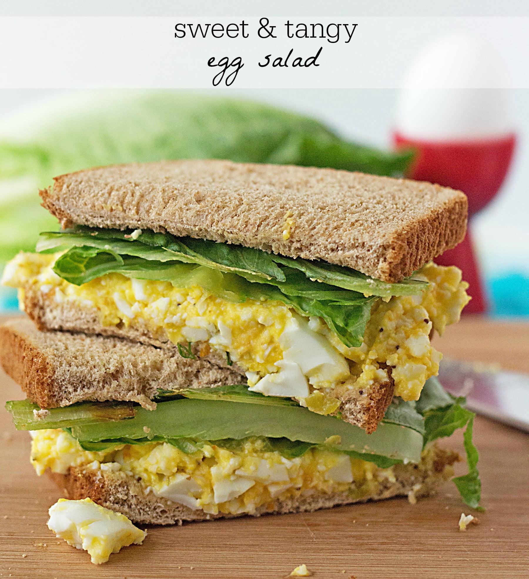 Sweet 'n Tangy Egg Salad Recipe
