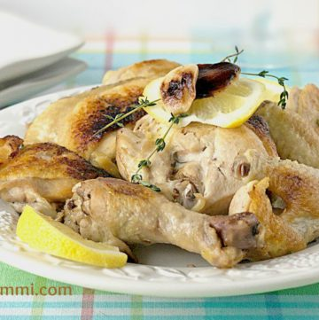 Heart Healthy Roasted Garlic Chicken - Get the recipe from itsyummi.com