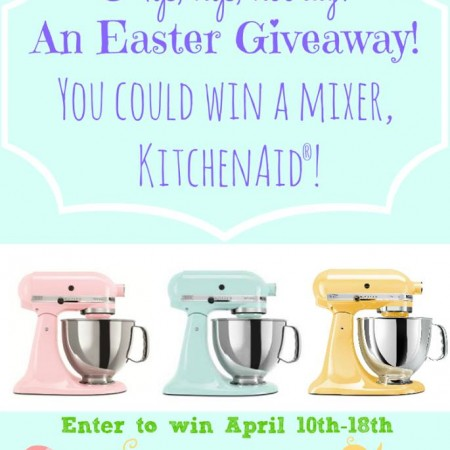 Enter to win a KitchenAid stand mixer from ItsYummi.com and friends! #giveaway