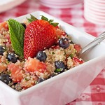 Patriotic Quinoa Salad from ItsYummi.com