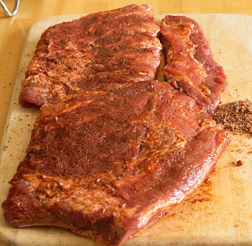 Recipe for BBQ Dry Rubbed Pork Ribs from ItsYummi.com #ReadySetRibs # ...