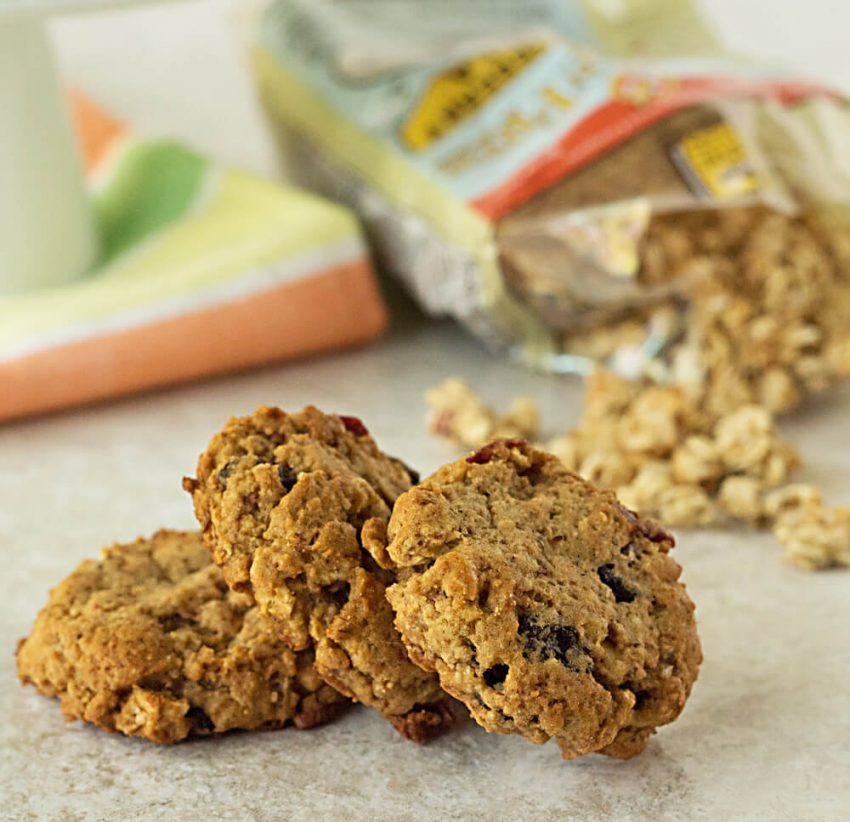 healthy granola cookies