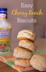 Cheesy ranch biscuits ~ recipe from ItsYummi.com