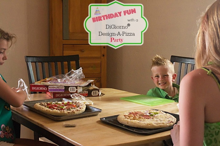 If you've got picky eaters in your life, have a pizza party with DiGiorno Design-A-Pizza kits! Each slice is customized with their favorite toppings! #DesignAPizza #Digiorno  #shop
